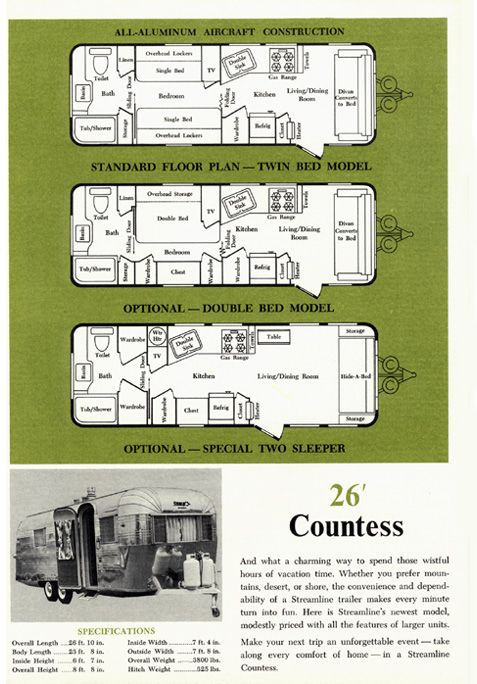 1000 images about streamline classic trailers on pinterest. Black Bedroom Furniture Sets. Home Design Ideas