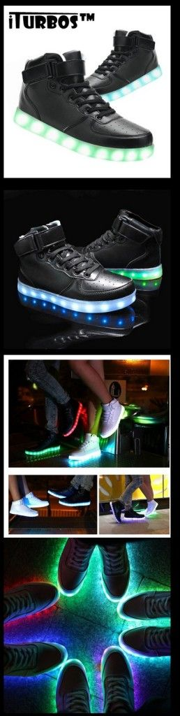 USB Charging LED Shoes Flashing Sneakers