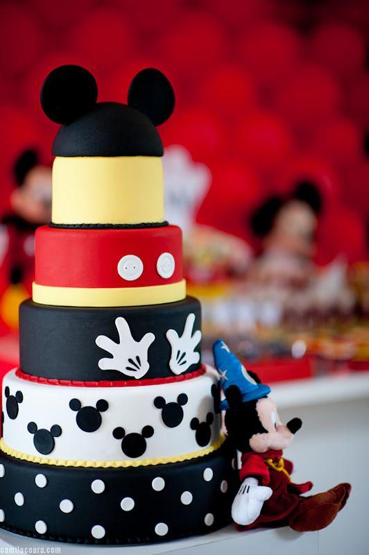 Fiesta Temática de Mickey Mouse - Cumpleaños : Fiestas Infantiles Decoracion