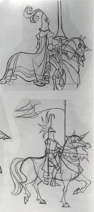 I may be a fan of realism, but these Tom Oreb designs from Sleeping Beauty are well beautiful.