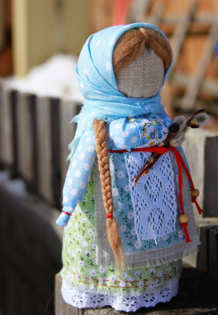 Нитки, пуговки и Я: Весенняя куколка