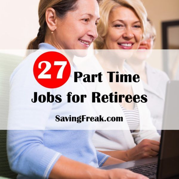 GREAT ideas on part time jobs that are easy for people who are retired.  My mom tried a couple and loves them.
