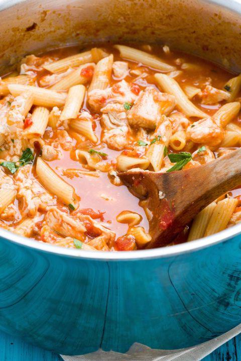 Chicken Parm Soup - Chicken Parmesan Soup