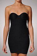 Strapless shapewear for tube tops and dresses
