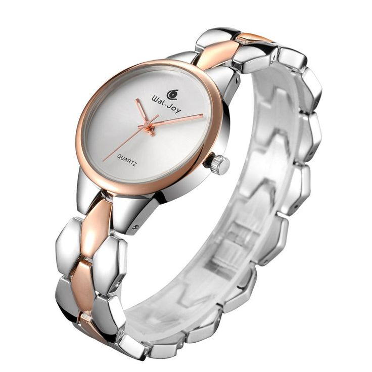 WAL-JOY WJ-9001 Luxury Women Quartz Watch Fashion Alloy Strap Ladies Dress Watch at Banggood