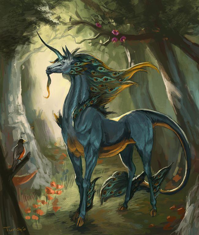 Unicorn by ~zeo-x on deviantART