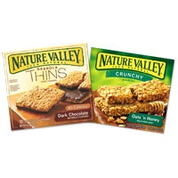 Nature Valley Granola Thins.....Even my kids like these!!!  Healthier than Fruit Snacks!