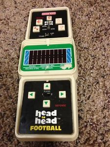 mattel electronics head to head football | Details about 1979 Vintage Coleco Head to Head Electronic Football