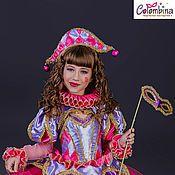 Купить или заказать костюм Ведьмы, Колдуньи в интернет-магазине на Ярмарке Мастеров. Карнавальный костюм Ведьмы, Колдуньи для девочки комплектация: платье, шляпа 134-146+300…