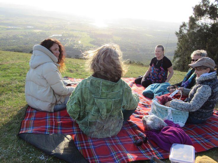 Secret Women's Business at Tamborine Hang Gliding spot