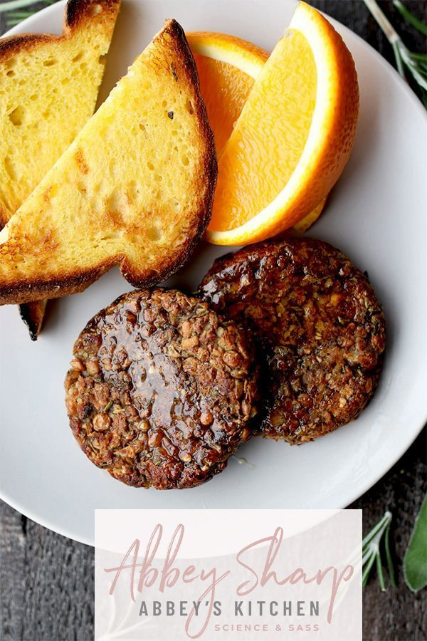Vegan Breakfast Sausage With Maple And Apple In 2020 Sausage Breakfast Vegan Brunch Recipes Vegan Breakfast