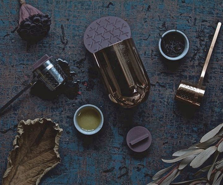 The Weaver Tea Infuser by TOAST Living - an award winner and a perfect inexpensive but beautiful gift for the tea drinker in your life. A great office gift too.   #tea #infuser #ifproductdesignaward http://ift.tt/1eZkfJW