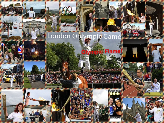 London Olympic Game by Softease app, via Flickr