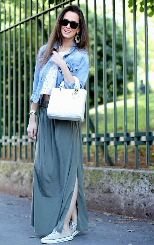 Long dress outfit ideas 55