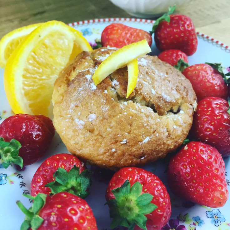 Strawberry, Coconut and Orange Muffins – Baby Led Weaning