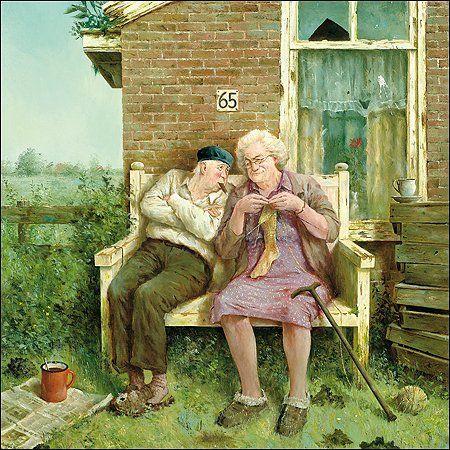 Marius van Dokkum, Dutch Artist and Illustrator ~