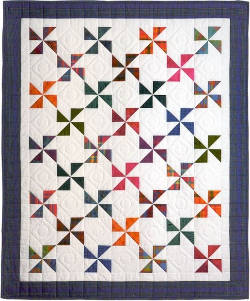 Quilt Pattern For Pinwheels : 1000+ ideas about Pinwheel Quilt on Pinterest Pinwheel quilt pattern, Quilting ideas and Quilt ...