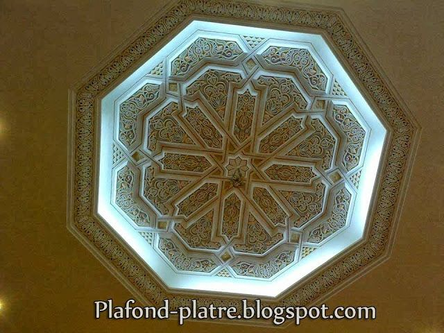 58 best images about faux plafond on pinterest models for Platre sculpte marocain