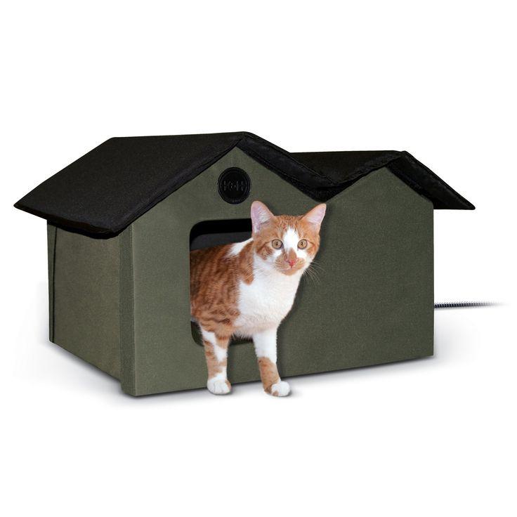 Best 25 Heated Cat House Ideas On Pinterest Heated Outdoor Cat