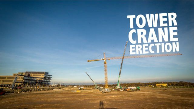 This timelapse video shows a one-day-erection of a Liebherr tower crane (280 EC-H 12) on the construction site of HOERBIGER (https://www.hoerbiger.com). It is located on Aspern Vienna's Urban Lakeside which is Austria's largest construction site at the moment ...  _________________________________ Visit our website: http://filmspektakel.at Like us on Facebook: facebook.com/FilmSpektakel Follow us on Twitter: twitter.com/FilmSpektakel Contact us via email: info@filmspektakel.at