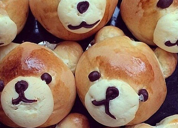 too cute to eat ;) Verdens beste bamseboller med vaniljekrem - Godt.no - Finn noe godt å spise