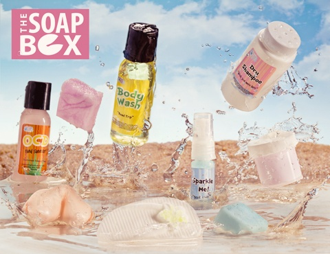 So excited that I finally got off the wait list for The Soap Box by Fortune Cookie Soap!  Can't wait for the summer box to arrive :)