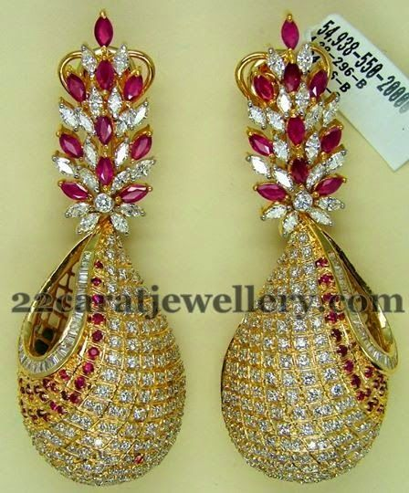 Jewellery Designs: Classic Earrings by Preeti Jain