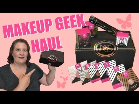 Makeup Geek Haul ~ New Products & Launches From MUG Cosmetics - YouTube