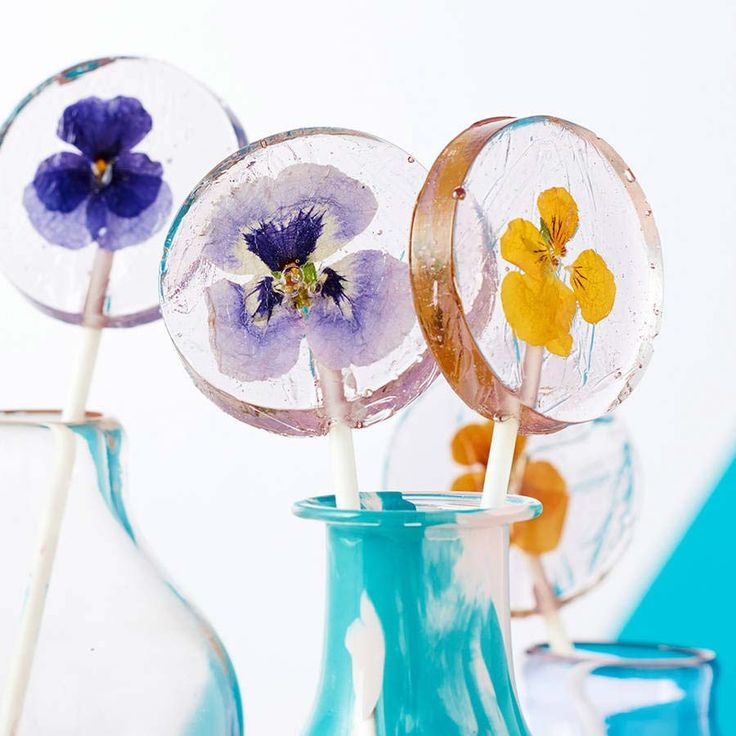 These pretty lollipops are from The Little Lollipop Shop and they'd make amazing favours for your summer wedding guests