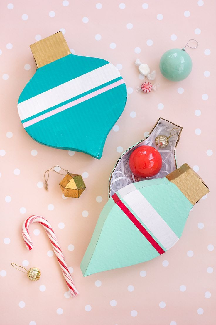 DIY: ornament boxes