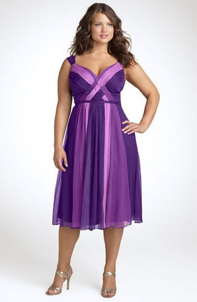 plus size purple cocktail dresses | ... Lifestyles Blog: