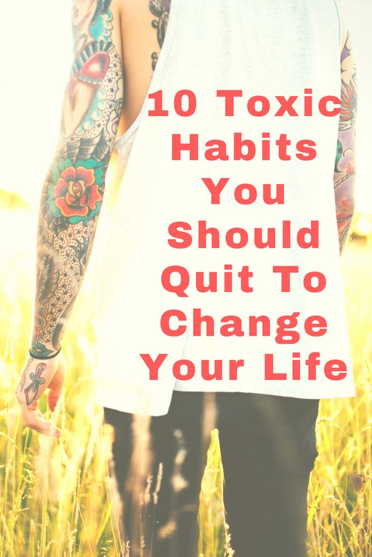 #toxiclife #badhabits #quitbadhabits #howtoquitbadhabits #findtoxichabits #HappyLife #HealthyLife #Health #Fitness #Life  Toxic/Bad Habits they waste your time, energy and interrupt your life. To make your life more peaceful, you should give up some toxic habits which can make you lethal in near future. What you really do to quit them??? Here We listed 10 toxic habits which you must quit now to improve your life.