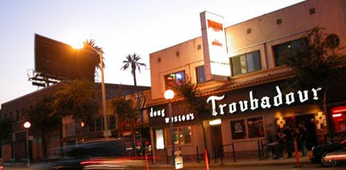 The Troubador: One of my favorite music venues in LA