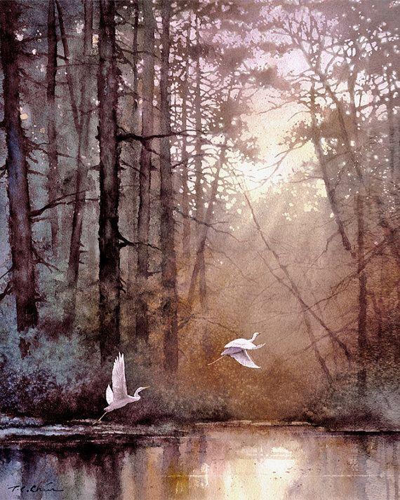 ufukorada: Morning Delight - Watercolor
