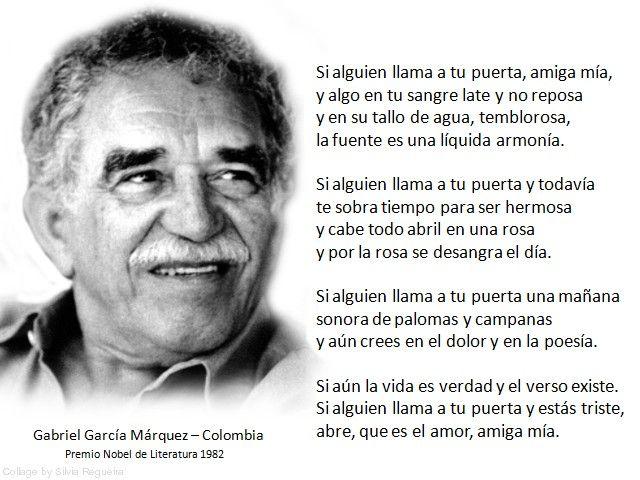 Gabriel García Márquez poemas | ENTREGA DEL PREMIO NOBEL DE LITERATURA