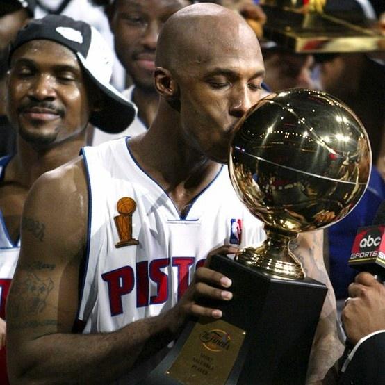 Chauncey Billups - 2004 NBA Finals MVP