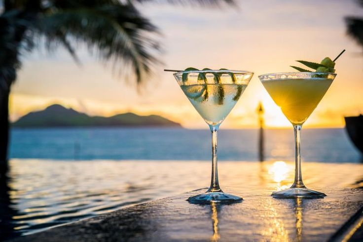 Cheeky beach cocktails...