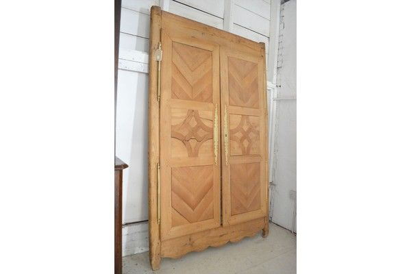 Pair Of French Wooden Doors | Vinterior London  #design #rustic #house #home #interiors #decor