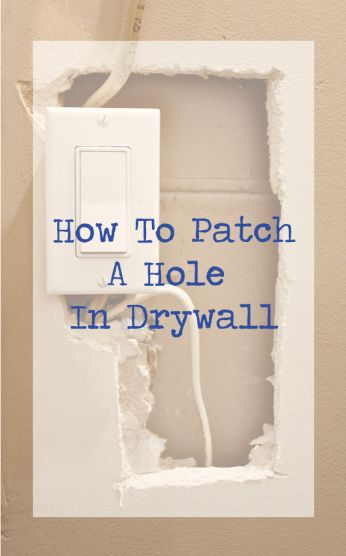 how to patch a hole in drywall father daughter we and studios. Black Bedroom Furniture Sets. Home Design Ideas