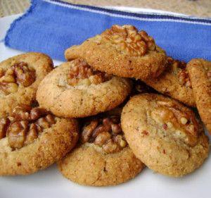 Biscuits à la farine de sarrasin et aux noix sans gluten purée d amandes bicarbonate sucre completde canne