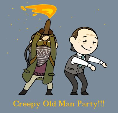 Until Dawn Old Dudes Animated by humon