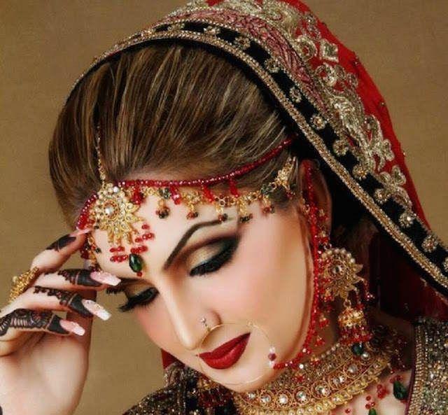 maquillaje para novias estilo pakistaní moda 2015