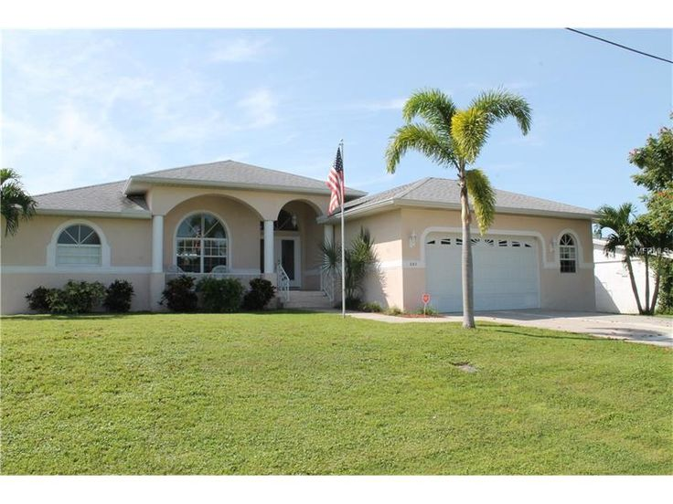 Stunning seasonal rental on sailboat canal in Punta Gorda Florida. Beautifully furnished, and ready for those wanting to escape those harsh winter months. Listed by Barnes & Phillips Real Estate 941-743-4200