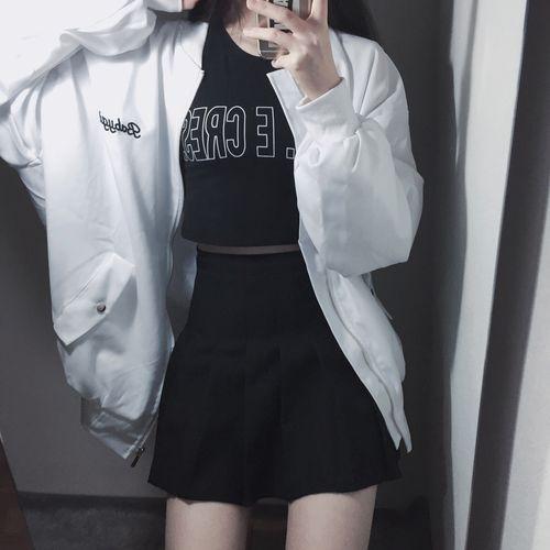 ↠Black&White↞ Fashion, style, asian style, asian fashion, korean style, korean fashion, k-style, k-fashion, ulzzang, kpop, ootd, dailylook, lookbook, street style