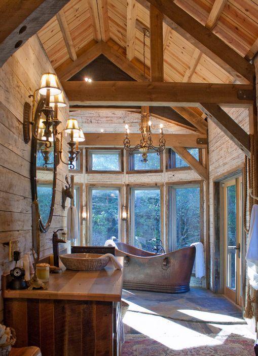 Rustic cabin decor                                                                                                                                                                                 More