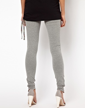 Enlarge Freddy Leggings With Ruched Ankle Detail-- Just bought these-- we'll see if I like them!-- RETURNED.