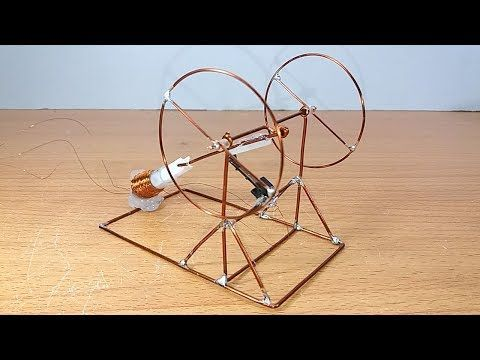 How to make Solenoid Engine #1 - YouTube | cool science