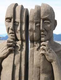 Resultado de imagem para escultura de cimento