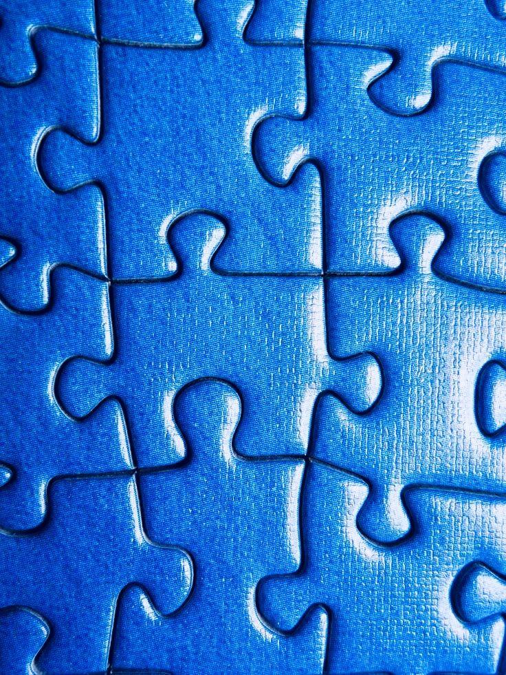 .puzzle. t | Blu cobalto, Colore blu