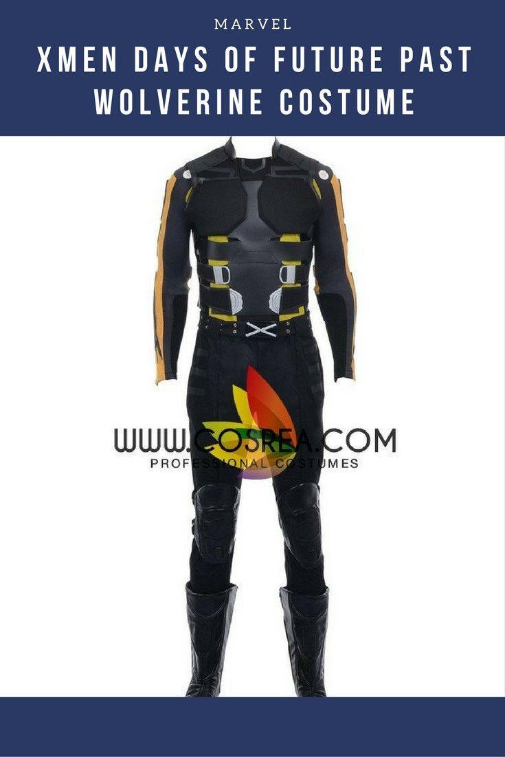Xmen Days of Future Past Wolverine Cosplay Costume